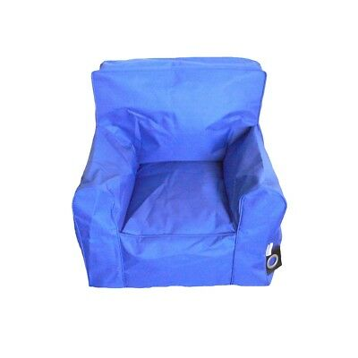 Boscoman - Cozy Youth Lounger Chair  Bean Bag - Blue