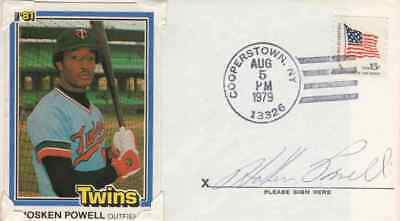 HOSKEN POWELL Autographed Cover - Baltimore Orioles