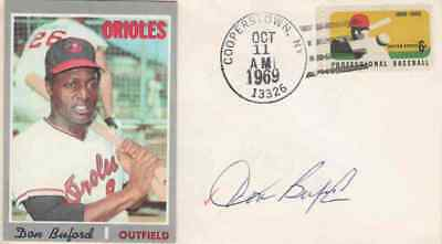 DON BUFORD Autographed Cover - Baltimore Orioles