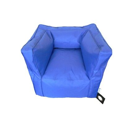 Boscoman - Blue Bean Bag Chair - Blue