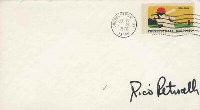 RICO PETROCELLI  Autographed Cover - Boston Red Sox