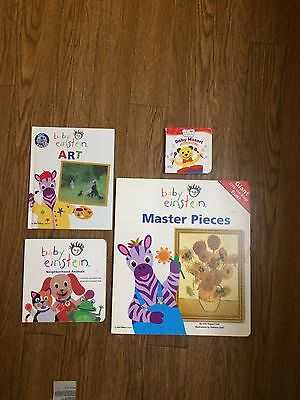 Lot Of 4 Baby Einstein Books