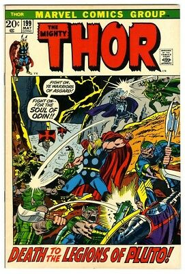 Thor #199 (1972) Fine Marvel Comics