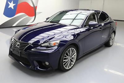 2014 Lexus IS  2014 LEXUS IS250 PADDLE SHIFT SUNROOF REAR CAM 53K MI #008532 Texas Direct Auto