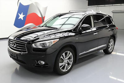 2014 Infiniti QX60 Base Sport Utility 4-Door 2014 INFINITI QX60 DELUXE TOURING PANO ROOF NAV DVD 55K #515539 Texas Direct