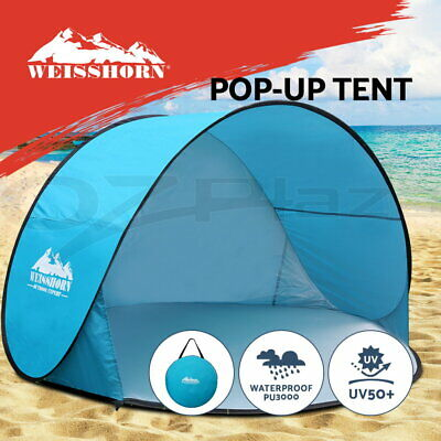 Weisshorn Pop Up Camping Tent Beach Portable Hiking Sun Shade Shelter Fishing