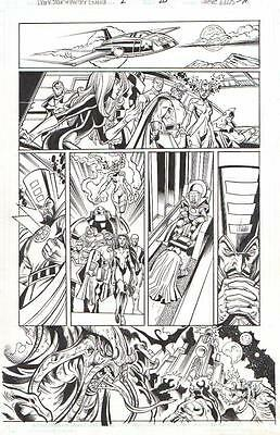 Darkstar & Winter Guard, Dire Wraiths Orig. Art 2010-Steve Ellis/ Scott Hanna!