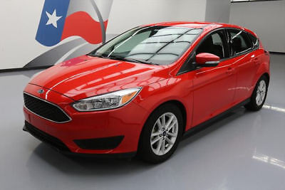 2016 Ford Focus SE Hatchback 4-Door 2016 FORD FOCUS SE HATCHBACK auto REAR CAM ALLOYS 33K #290612 Texas Direct Auto