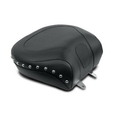 Mustang 79130 Studded Recessed Wide Rear Seat for 2000-2007 Harley Softail Model