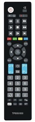 Replacement Topfield Remote  -  Tp307 Trf7160 Tf7100Hdpvrt-Plus Tf7100Hd-Plus