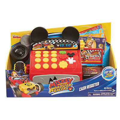Disney Mickey & The Roadster Racers Cash Register NEW