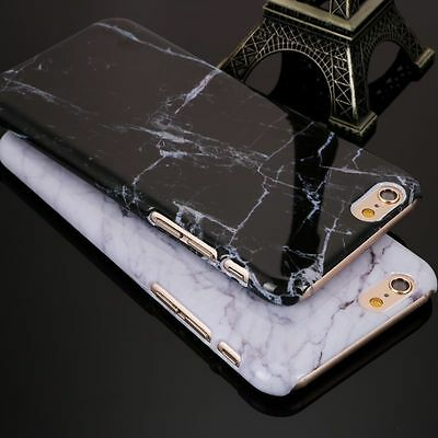 Granite Marble Texture Pattern Luxury Phone Hard PC Case For iPhone X 8 7 6 Plus