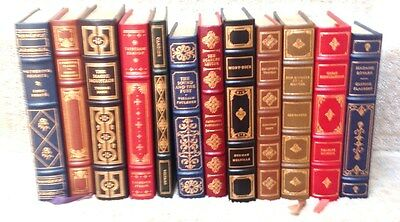 Reduced $$ Set 12 Franklin Library Leather bound books 10 Ist Eds 1979 All FINE