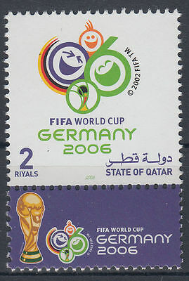 Qatar 2006 ** Mi.1293 Fußball Football World Championship in Germany FIFA