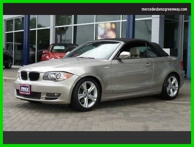 2011 BMW 1-Series 128i 2011 128i Used 3L I6 24V Automatic Rear Wheel Drive Convertible Premium