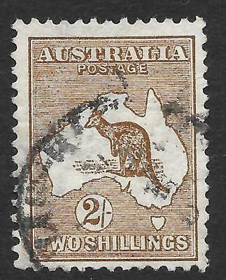 Australia 1913 2/- Brown SG 12 (Fine Used)
