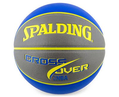 SPALDING NBA Crossover Composite Leather Basketball - Size 7