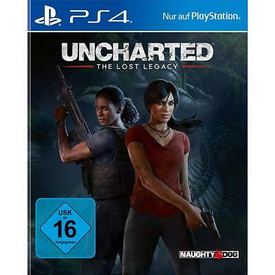 Uncharted The Lost Legacy Sony PS4 + Bonus Jak Daxter Precursor DLC, NEU&OVP