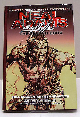 ➡ ADAMS Neal ☆ The sketch book ☆ Second printing 2003 ☆ TBE ☰