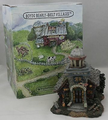 Boyds Boydsenberry Acres Miss Macintosh's Schoolhouse Resin Building 19048