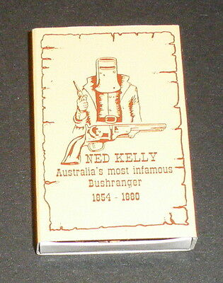 NED KELLY MATCHES  1 x Box   Glenrowan Old Melb Goal    new unused