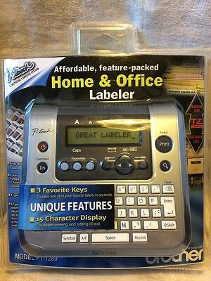 Brother PT-1280 Label Printer Home & Office Labeler P-Touch New in Package