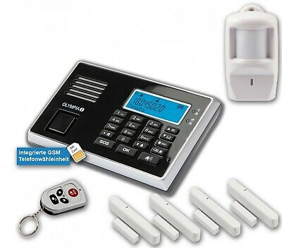 Olympia Protect 9061 Gsm Remote Alarm System