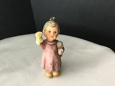 1997 HUMMEL GOEBEL Christmas ornament STOCKING FOR Girl with Doll