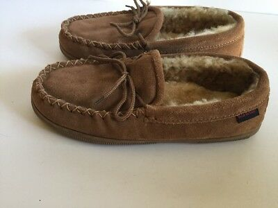 Red Wing Mens Sheepskin Moccasin Slippers Size 8 M