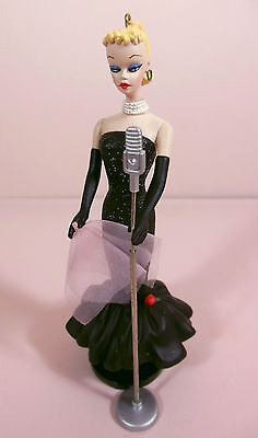 """Solo in the Spotlight"" miniature BARBIE Christmas tree ornament! Adorable!"