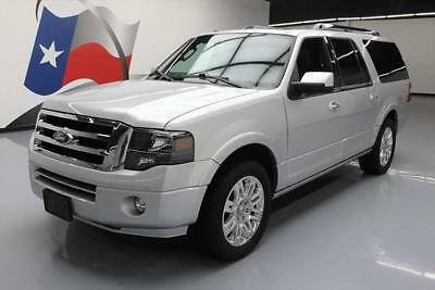 2014 Ford Expedition Limited Sport Utility 4-Door 2014 FORD EXPEDITION EL LIMITED SUNROOF NAV 20'S 44K MI #F65522 Texas Direct