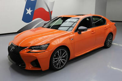 2016 Lexus GS Base Sedan 4-Door 2016 LEXUS GS F 467HP V8 SUNROOF NAV CLIMATE LEATHER 2K #000854 Texas Direct