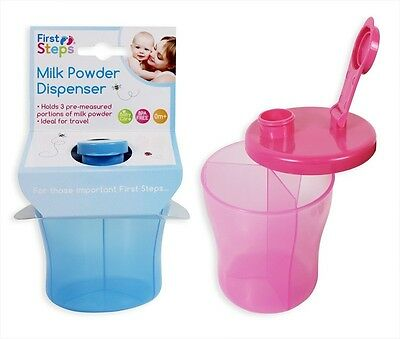 Baby Food Pots With Spoon OR Baby Milk Powder Dispenser Baby Feeding