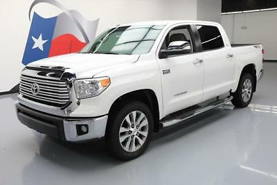 2017 Toyota Tundra Limited Crew Cab Pickup 4-Door 2017 TOYOTA TUNDRA LIMITED CREW MAX TRD OFF-ROAD NAV 9K #213559 Texas Direct