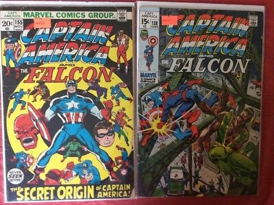 "Marvel Comics Group ""Captain America and the Falcon"""