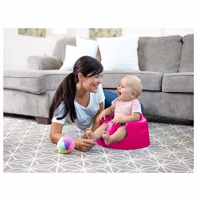 *brand New* Bumbo Floor Seat Magenta Infant/toddler Booster Chair Travel Picnic