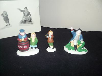 Dept 56  Old Man And The Sea--Heritage Village 3 Pc In Box