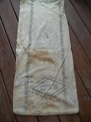 Vintage Chase Bag Co St Louis Mo K L Chase A Seamless Rented Bag Cloth Sack