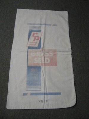 Vintage  RP Research Proved Grass Seed Cloth Sack