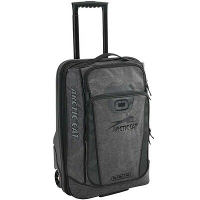 Arctic Cat OGIO Small Roller Bag Molded Tub Expandable - Black & Gray - 5282-901