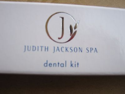 100 pcs New Old Stock Judith Jackson Spa Boxed Dental Kit Toothbrush Toothpaste