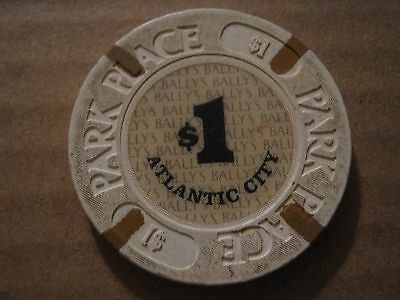 Vintage Park Place Atlantic City $1 Casino Chip