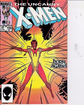 The Uncanny X-Men #199 VF- 7.5 1985 Marvel See My Store