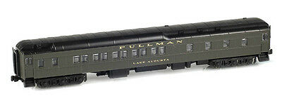 "AZL 71101-1 Heavyweight Pullman Sleeper 10-1-2 GREEN  Z-SCALE ""LAKE AUGUSTA"""