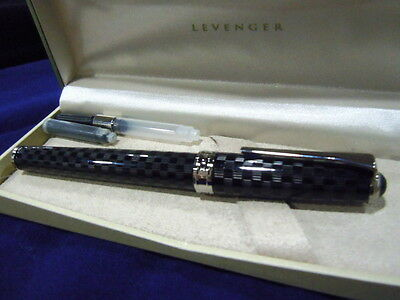 Levenger True Writer Checkmate Fountain Pen- Medium