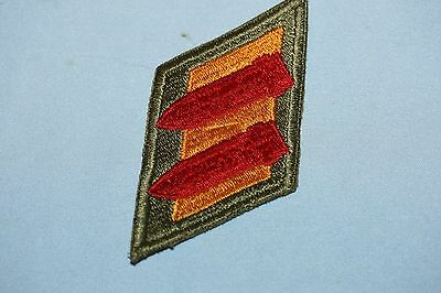 Lot of 2 Original WWII US Army Patches 1 is Green Back, No  Glow 13 of 14