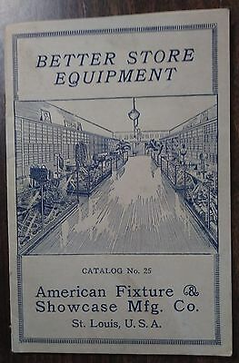 1920 Catalog Showcase & Fixtures For Dry Good Clothier Stores