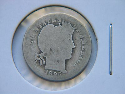 1895-O 10C Barber Silver Dime  Rare Key Date New Orleans