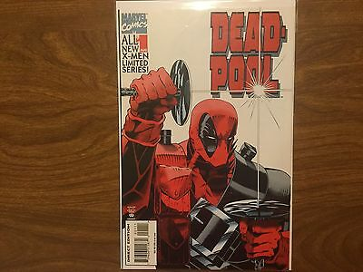 Deadpool 1 1994 First Solo Series First Mark Waid Art at Marvel Xmen Xfactor
