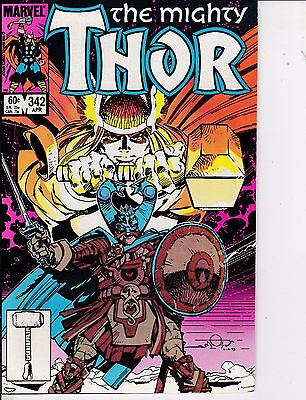 Thor #342 VF 8.0 1984 Marvel See My Store